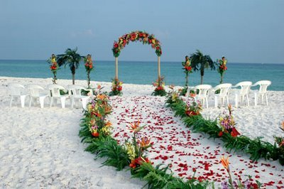 Roatan Beach Wedding